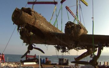 WW2 Dornier Bomber Lifted